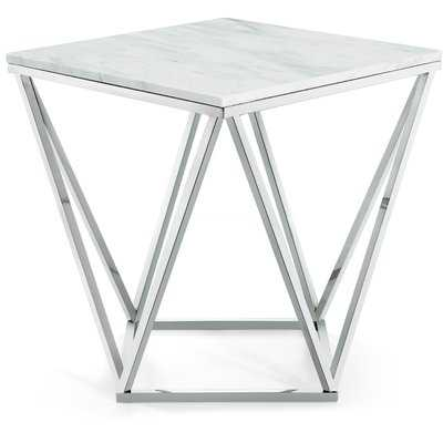Robeson Marble End Table - AllModern