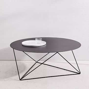 Eric Trine Octahedron Coffee Table, Black - West Elm