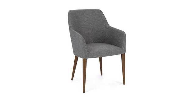 Feast Gravel Gray Dining Chair - Article