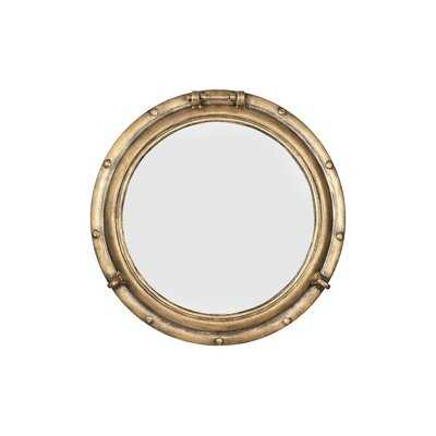 Alie Traditional Beveled Distressed Accent Mirror - Wayfair