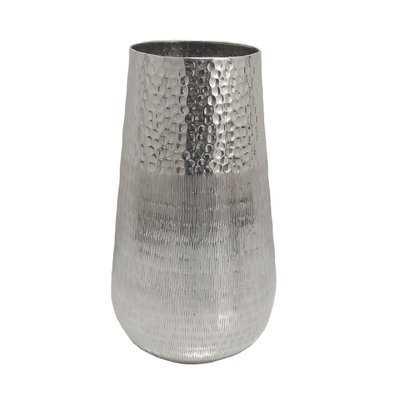 Annika Hammered Metal Table Vase - Wayfair