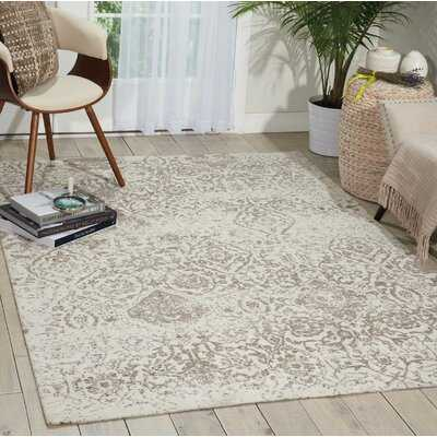 Orourke Ivory/Grey Area Rug - Birch Lane