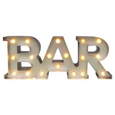 Bar Marquee Led Light Brass - Threshold - Target
