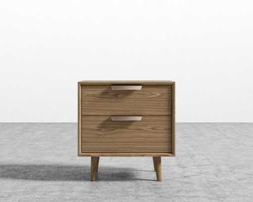 Asher Night Stand - Ash Veneer - Rove Concepts