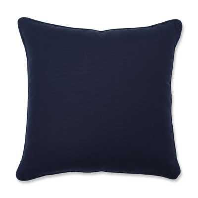 Butler Indigo Square Throw Pillow Blue - Pillow Perfect - Target