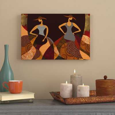 'Beauty of Color 4 Abstract African American' Graphic Art Print on Canvas - Wayfair