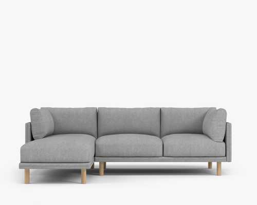 Anderson Sectional - Right-hand-facing Malmo, wood legs - Rove Concepts