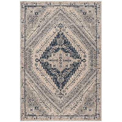 Fargo Navy/Ivory Area Rug - Wayfair