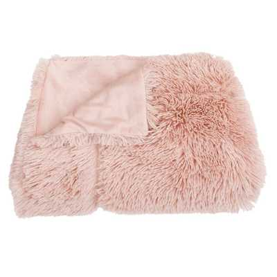 Chubby Faux Throw Blanket Rose (Pink) - Décor Therapy - Target