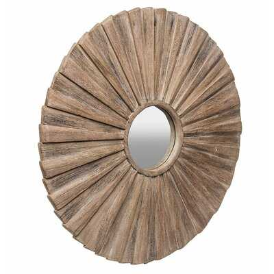 Tilomar Wooden Accent Mirror - Wayfair