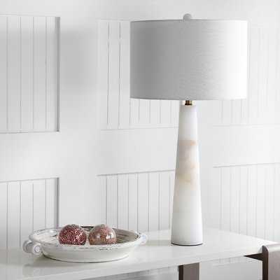"""Fancher Alabaster 30"""" Table Lamp - AllModern"""