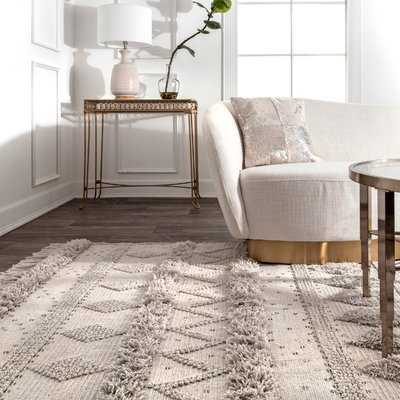 Lynch Hand Tufted Wool Ivory Area Rug - Wayfair