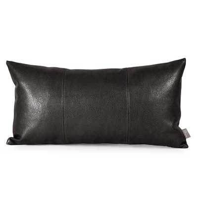 Sultry Black Kidney Pillow - Home Depot