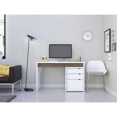 Alayna Reversible Desk with File Cabinet - Wayfair