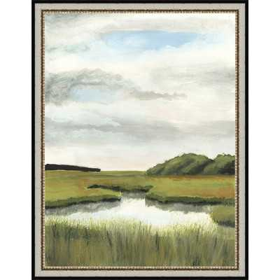 Marsh Landscapes II Framed Painting Print - Wayfair