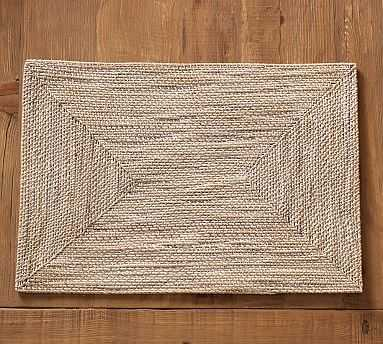 Tara Rectangle Placemat - Light Natural - Pottery Barn
