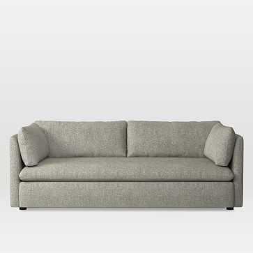 Shelter Sofa, Twill, Twill, Gravel - West Elm