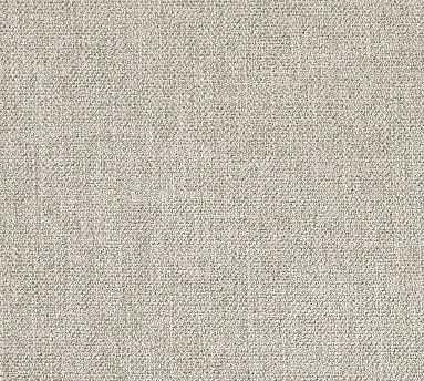 Fabric By The Yard - Performance Heathered Tweed Pebble - Pottery Barn