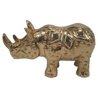 "Nate Berkusâ""¢ Etched Rhino - Gold - Target"