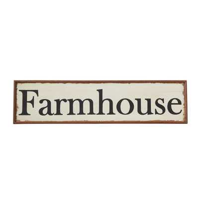 48 in. L Combo Board Wood Hand-Painted Farmhouse Wall Decor - Home Depot