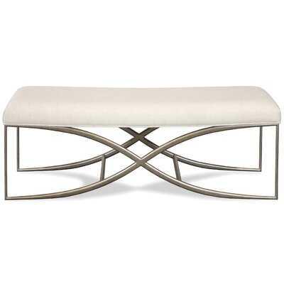 """Benoit Volane 48"""" Upholstered Bedroom Bench - Wayfair"""