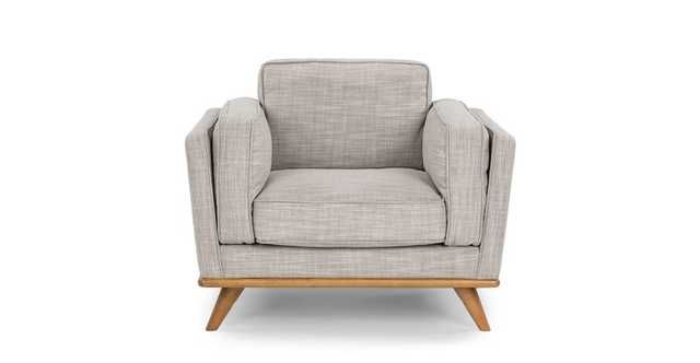 Timber Rain Cloud Gray Chair - Article