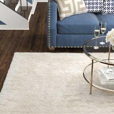 Eunice Handmade White Area Rug - AllModern