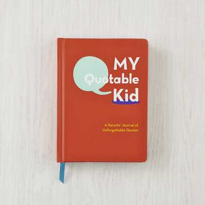 My Quotable Kid Book - Crate and Barrel