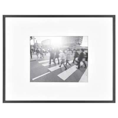 """14""""X18"""" Matted For 8""""X10"""" Photo Thin Gallery Frame Black - Project 62 - Target"""