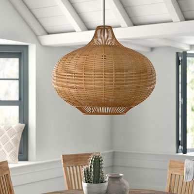 Toey 1 - Light Single Globe Pendant - AllModern