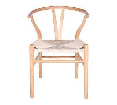 Faith Side Chair, Set of 2, Natural - Pottery Barn
