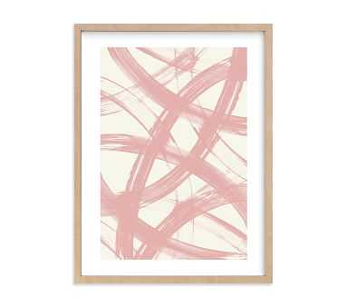 Minted Pink Reflections by Ampersand Design Studio, Natural, 11x14 - Pottery Barn Kids
