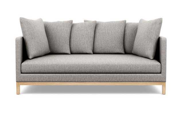 Jasper Sofa with Earth Fabric and Natural Oak legs - Interior Define