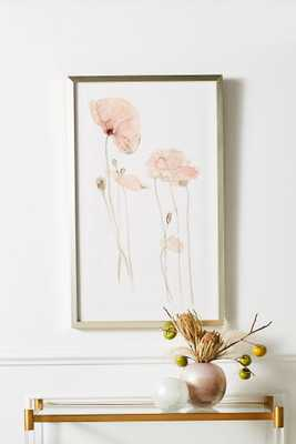 Translucent Floral Wall Art - Anthropologie