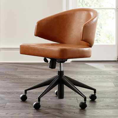 Lincoln Round Office Chair - Crate and Barrel