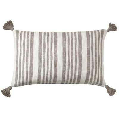 Flagstone Cotton Lumbar Pillow - Wayfair