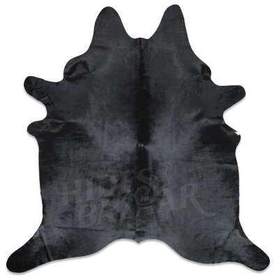 Fairburn Cowhide Black Area Rug - Wayfair