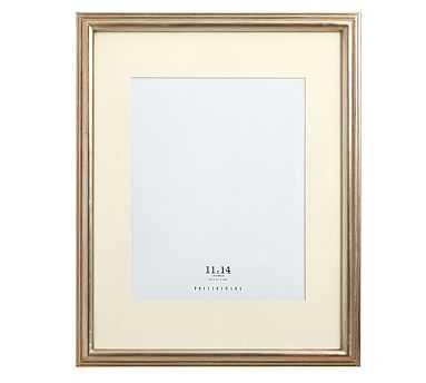 "Eliza Gilt Picture Frame, 11 x 14"" Medium Frame, Champagne Gilt finish - Pottery Barn"