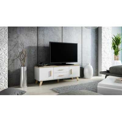 Holsinger Wood TV Stand for TVs up to 55 - Wayfair