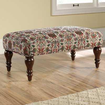 Collier Upholstered Bench - Wayfair