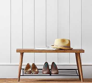 Lucy Shoe Rack - Pottery Barn