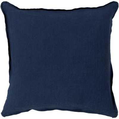 Zevgari Poly Euro Pillow, Blue - Home Depot