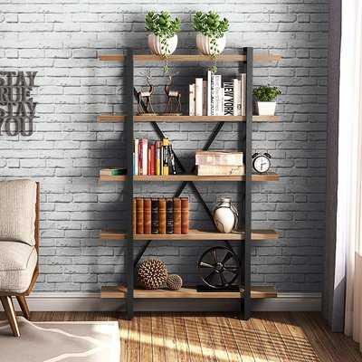 Schlemmer 5 Tier Etagere Bookcase - Wayfair