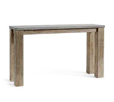 Brooks Console Table, Seadrift - Pottery Barn
