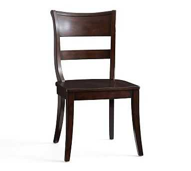 Bradford Side Chair, Alfresco Brown - Pottery Barn