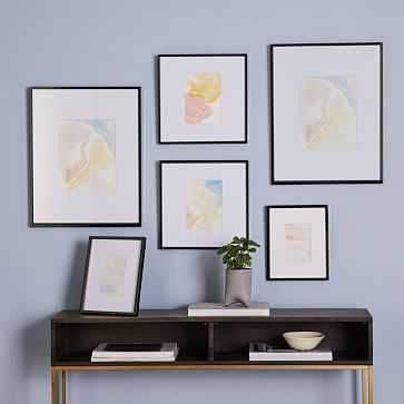 Gallery Frames, Antique Bronze, Set of 6 - West Elm