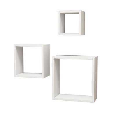 Kashvi Modern 3 Piece Wall Shelf Set - Wayfair