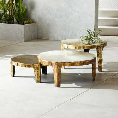 Lilly 3-Piece Nesting Table Set - CB2