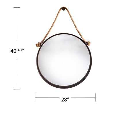 Lizbeth Decorative Hanging Mirror - Wayfair