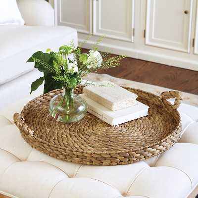 Ballard Designs Braided Seagrass Tray - Ballard Designs